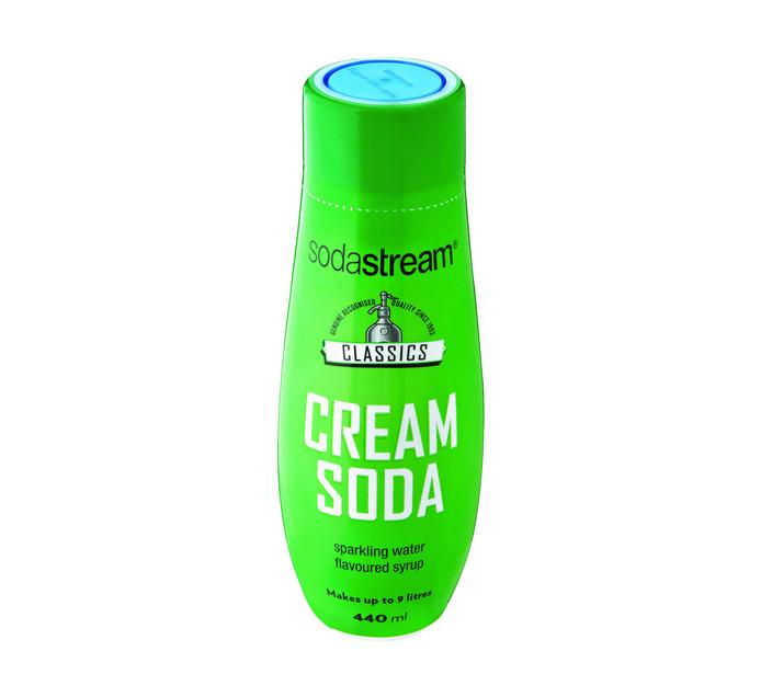 Sodastream 440 ml Classics Syrup Cream Soda Cream Soda