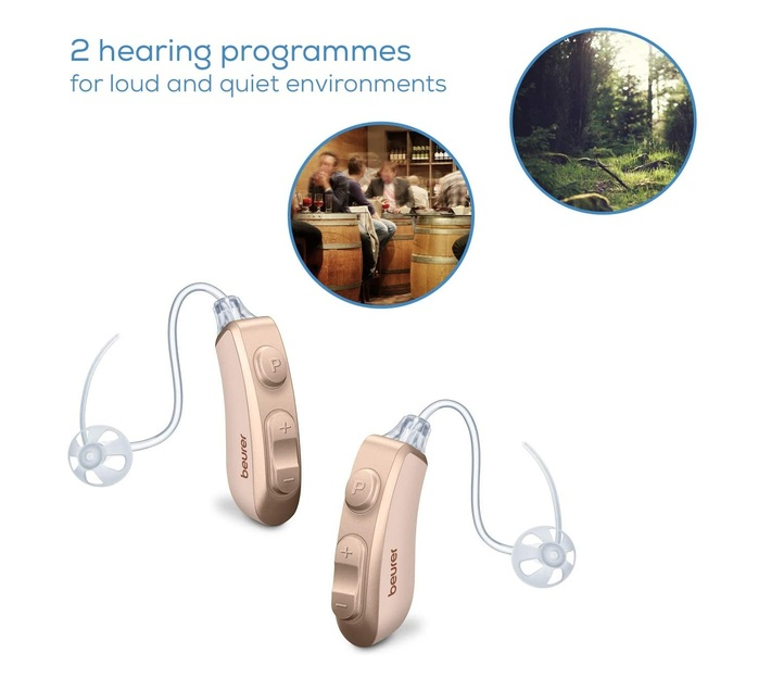 Beurer Hearing Amplifiers - Digital and Rechargeable HA 80 Pair