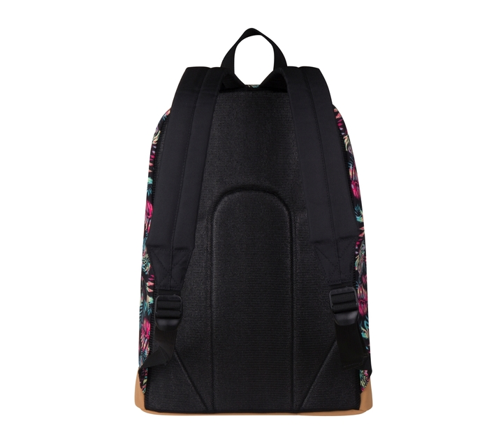 Volkano Suede Series Backpack in Multi Jungle Print with Elasticated Device Compartment and Adjustable Shoulder Straps
