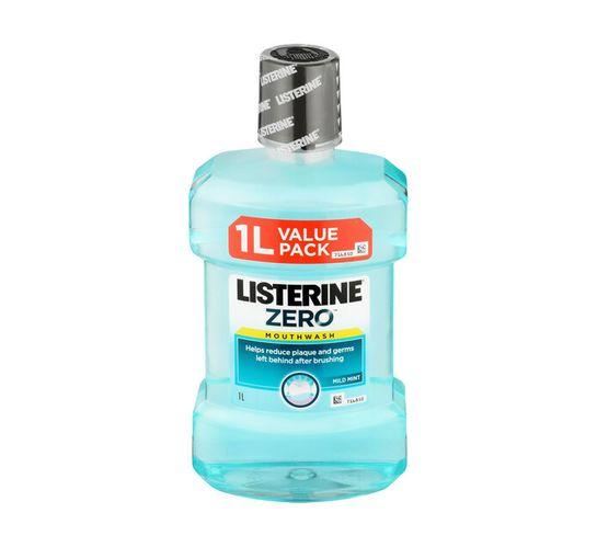 LISTERINE ZERO MOUTHWASH 1LT