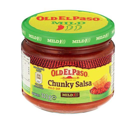 Old El Paso Dip Chunky Salsa Mild (1 x 312g)