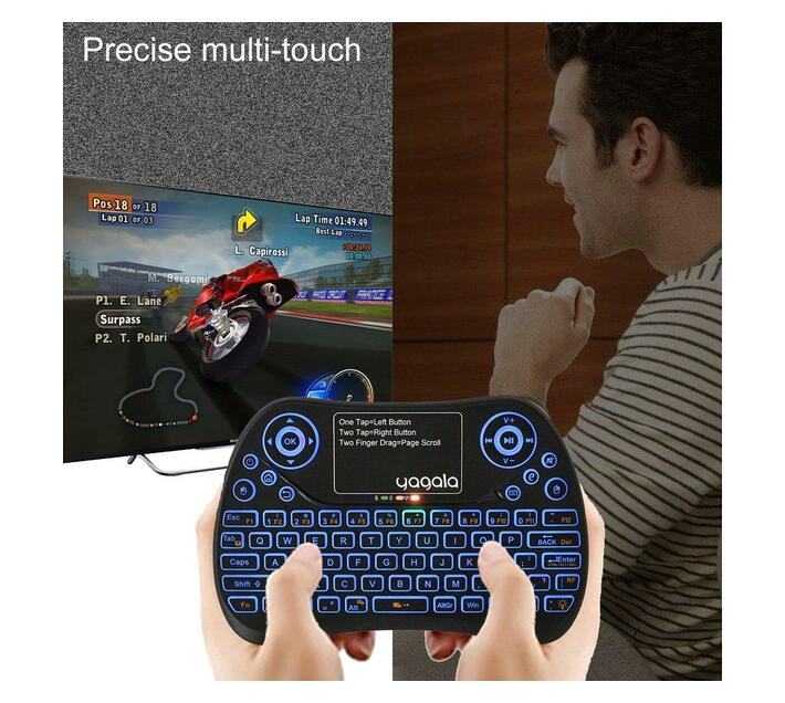 Ntech X96 Air Smart Android TV Box with i8 Keyboard Remote - 4GB RAM