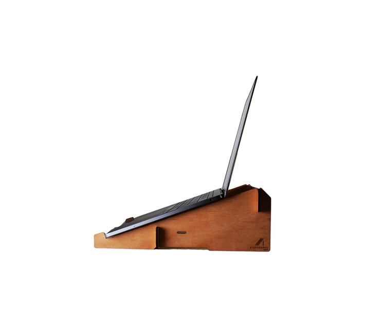 Flat-pack laptop stand