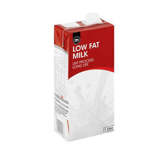 M Long Life Milk Low Fat (6 x 1 l)