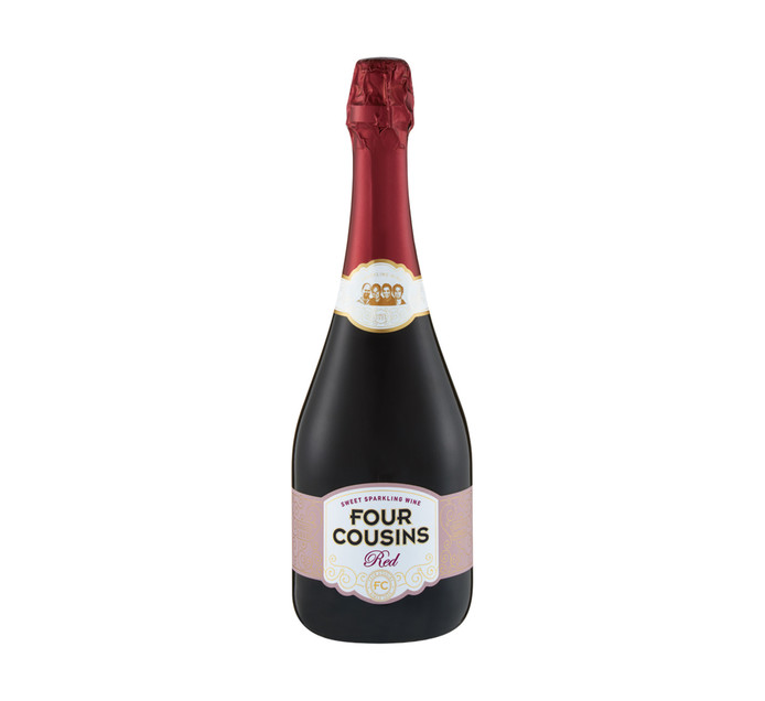 Four Cousins FC Red Sparkling (1 x 750ml)