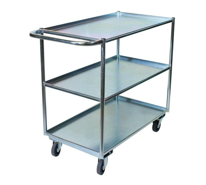 3 Tier Warehouse Stock Picking Trolley