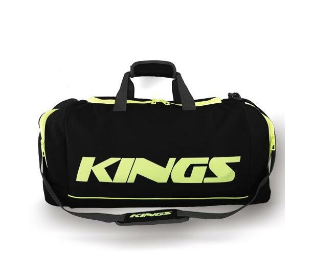 Kings Dome Shaped Carry Bag Black & Green - 2577L