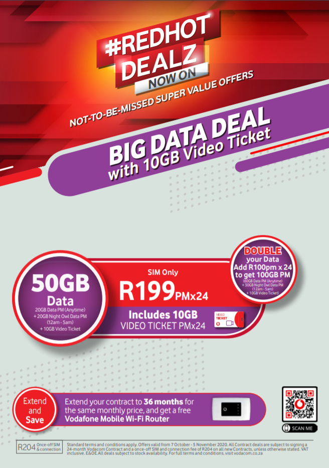 Vodacom Big Data Makro Online Site
