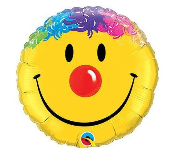 9 INCH FOIL SMILE FACE 1CTL