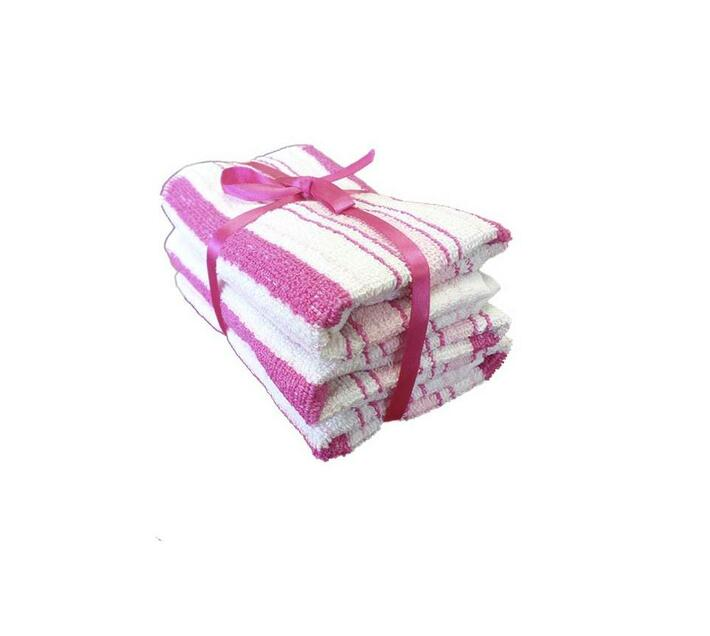 Bunty Alpine Guest Towel Pink (3Pc Pack) 30x50cms 450GSM