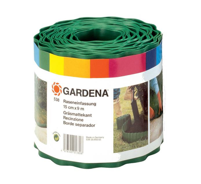Gardena 9 m x 15 cm Lawn Edging