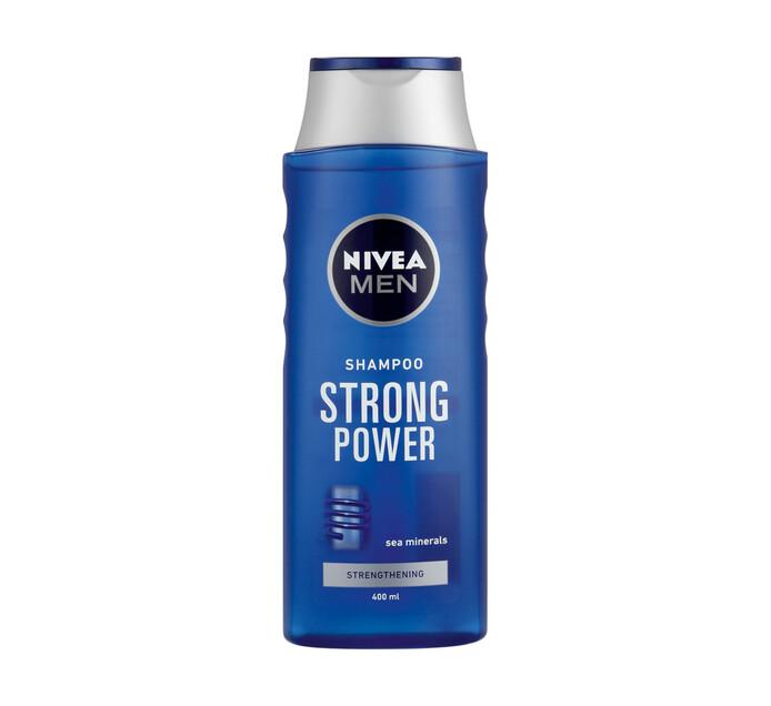 NIVEA Men Hair Shampoo Strong Power (1 x 400ml)