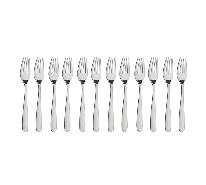 12pc Dessert Fork Amazonas Range Stainless Steel Dishwasher Safe