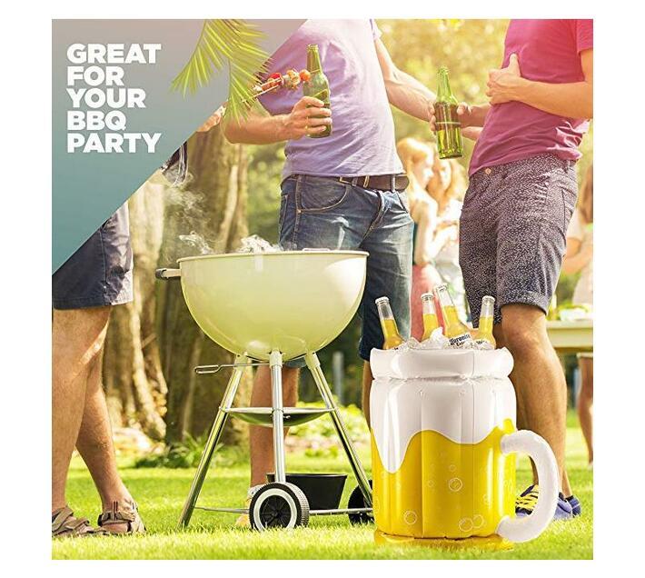 Maui Inflatable Cooler Beer Barrel