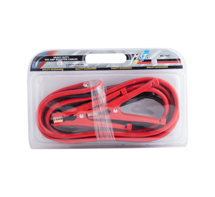 Moto-quip 600 Amp Booster Cables