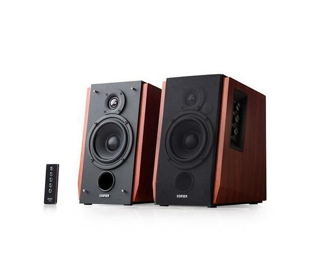 Edifier - R1700BT-BRO Active Bookshelf / Multimedia Speaker - Bluetooth