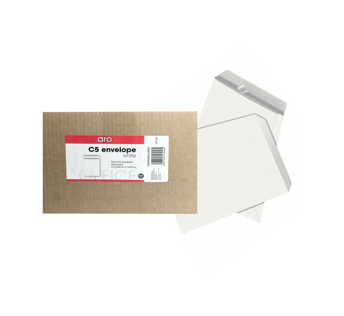 ARO C5 Pocket Seal Easi White Envelopes 500-Pack