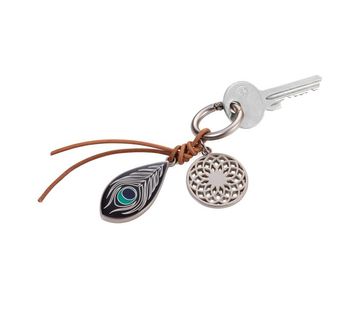 Troika Bag Charm with with 2 Charms Dream Catcher