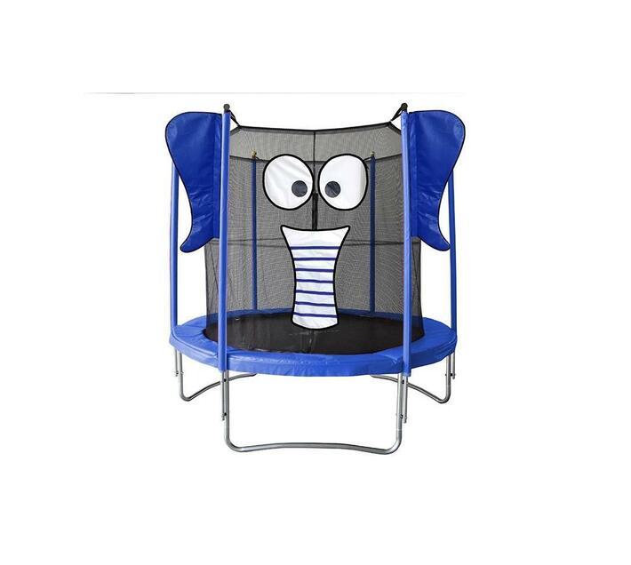 Bounce Tech 4.5ft Kids Elephant Trampoline with Safety Net