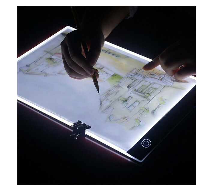 A4 12 Inch Artist Drawing Boards Dimming Art craft Tracing Light Box 2020 New Arrival -Black