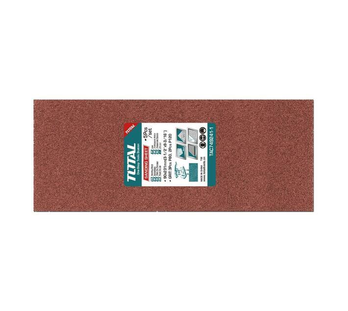 5Pcs , 90X231mm Sanding sheet set