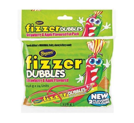 Beacon Fizzers Strawberry and Apple (1 x 24's)