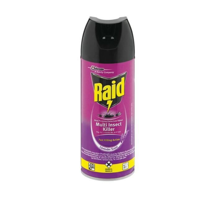 Raid Insect Spray Low Odour (1 x 300 ml)