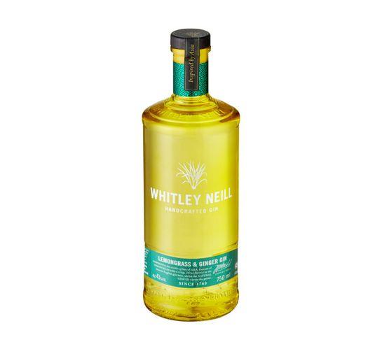 Whitley Neill Lemongrass & Ginger Gin (1 x 750 ml)