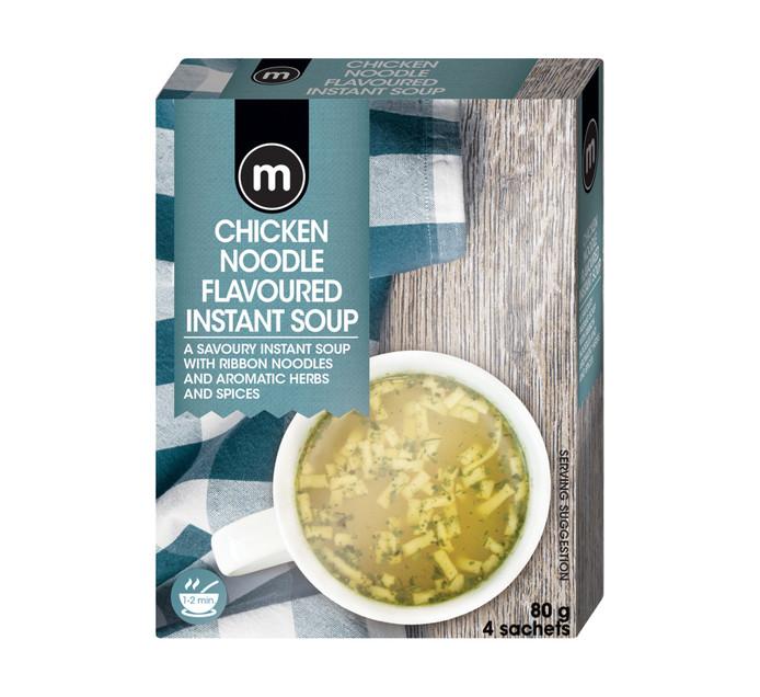 M Instant Soup Chicken Noodle (4's)