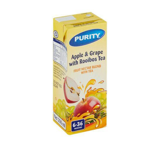 Purity Fruit Juice Apple&Grape (6 x 200ml)