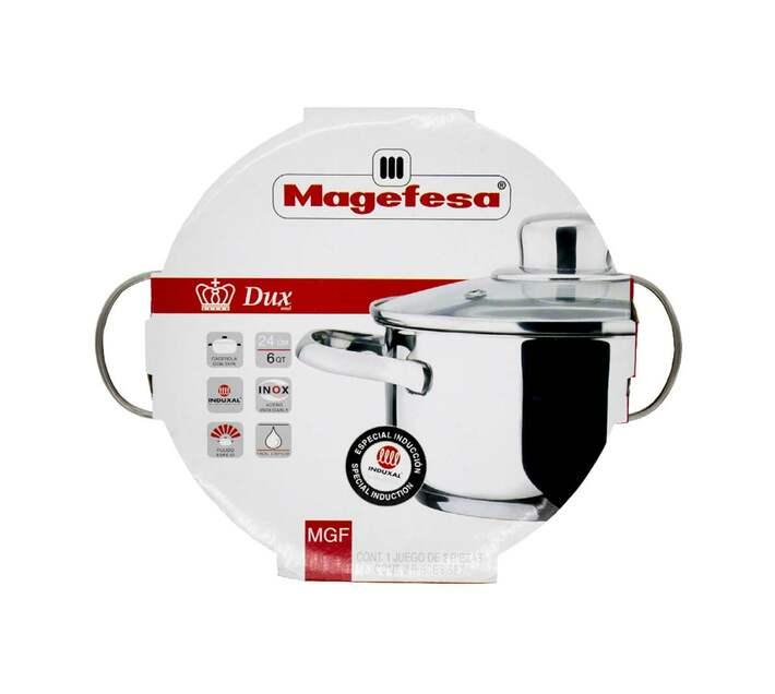 Magefesa Dux casserole 24cm St/St