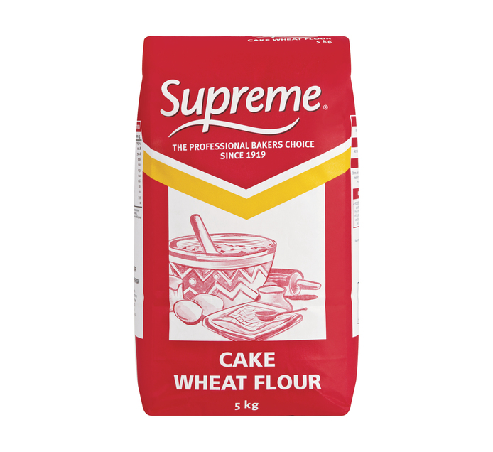 Supreme Cake Wheat Flour (1 x 5kg)