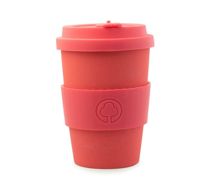 Bamboo Cup 400ml Red