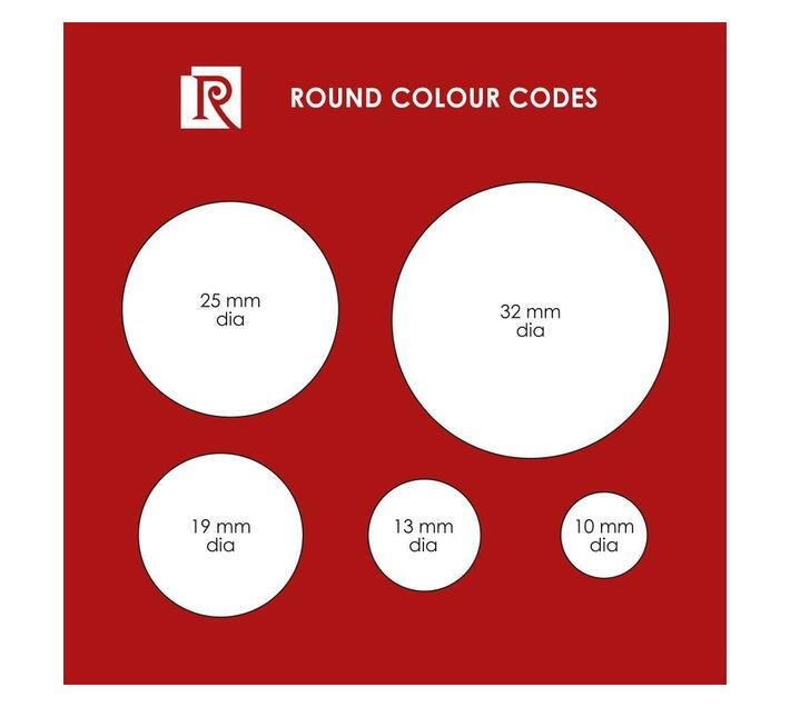Redfern Self-Adhesive Colour Codes - C32 Flu Yellow / Lime