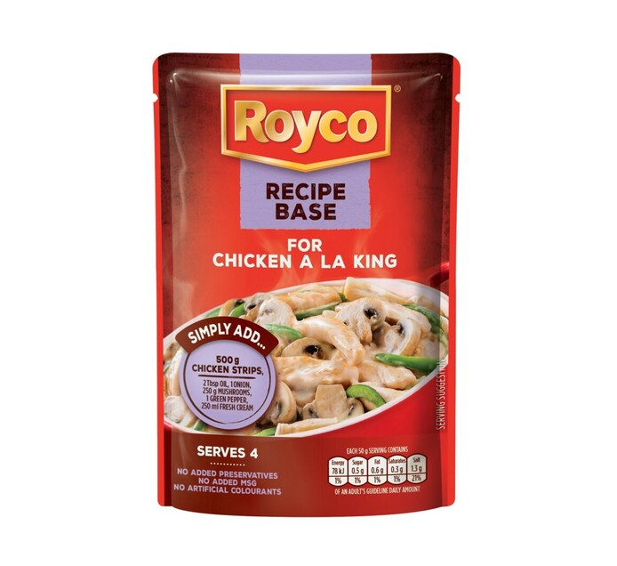 Royco Recipe Base Cooking Mixes Chicken ala King (1 x 200g)