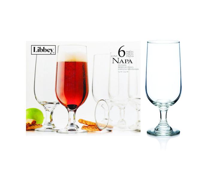 Libbey Napa Beer Glasses 6-Pack