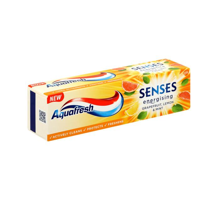 Aquafresh Senses T/Paste Grapefruit (1 X 75ml)