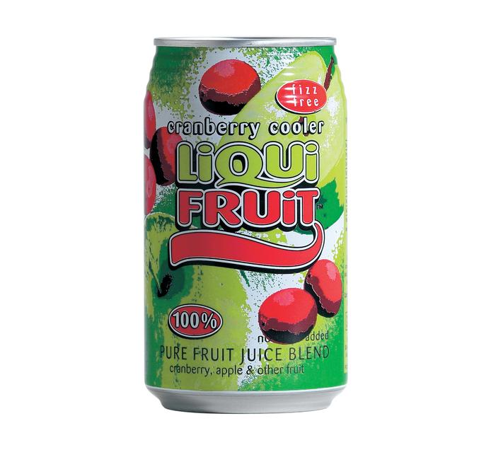 Liqui Fruit Breakfast Punch Cranberry Cooler (6 x 330ml)