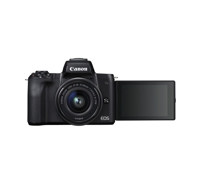 Canon EOS M50 Mirrorless Camera and 15-45 mm Lens