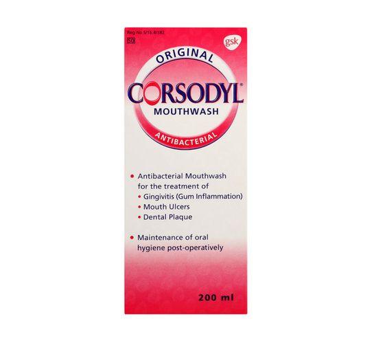 Corsodyl Mouthwash Original (1 x 200ML)