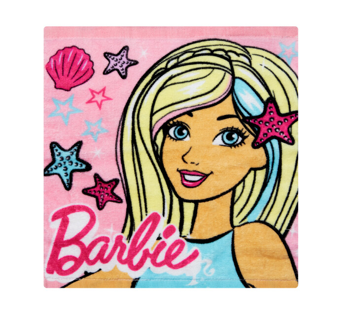 Character Barbie Face Cloth