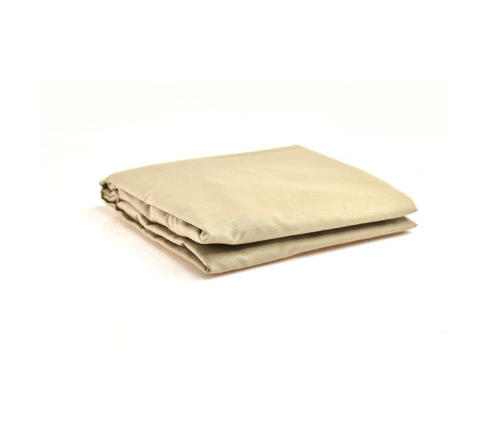 LARGE CAMP COT FITTED SHEET - NATURAL