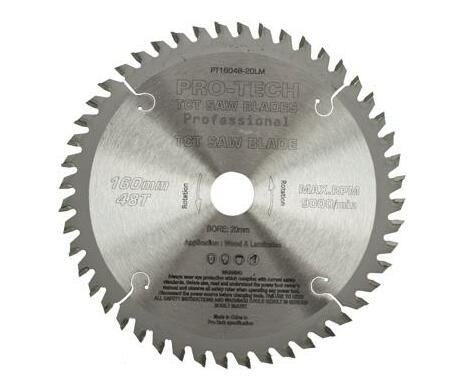Saw Blade Tct 160x2.2x20x48t Wood Prof. Pro-Tech Fes. Ts55 Pw1