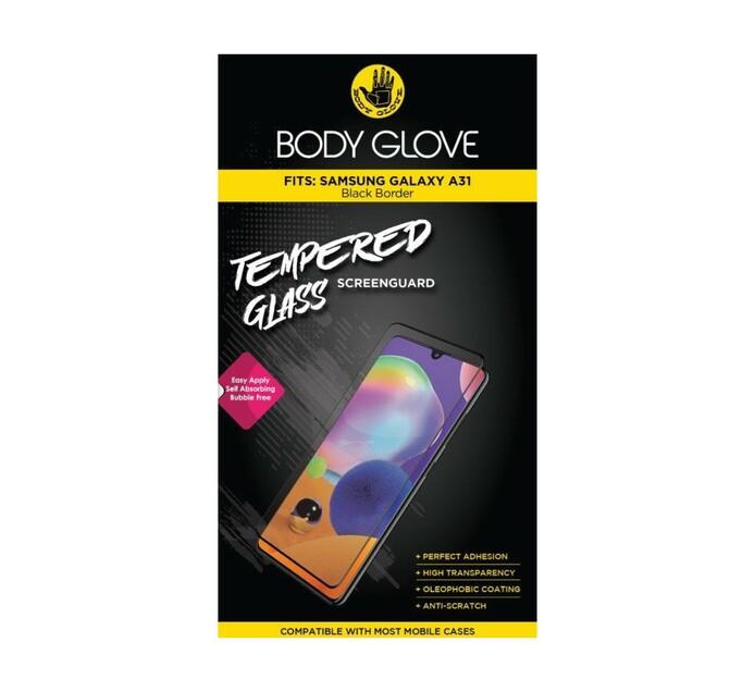 Body Glove Galaxy A31 Tempered Glass Black