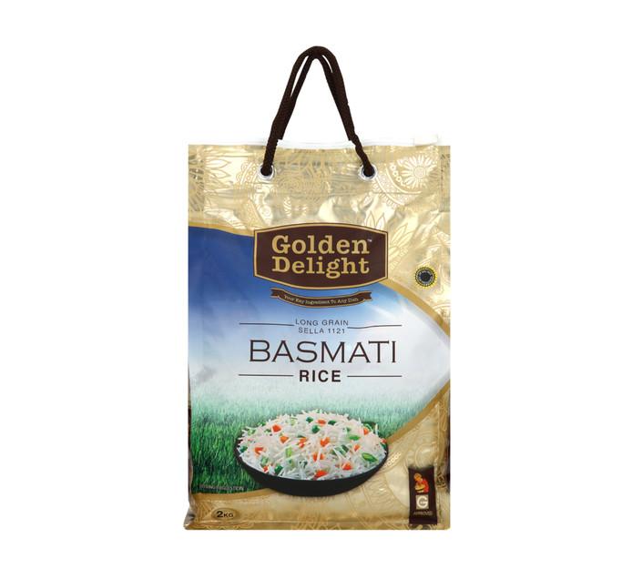 Golden Delight Basmati Rice (1 x 2kg)