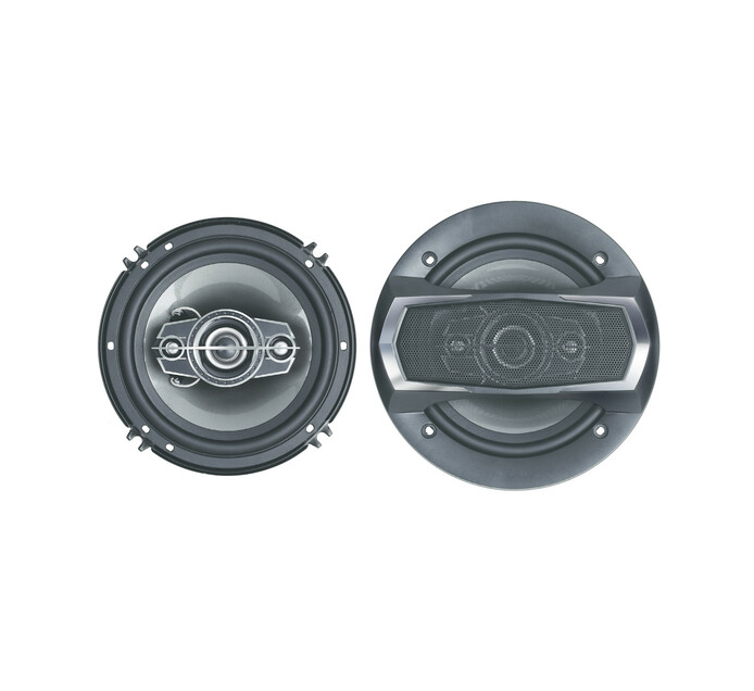 "Starsound 6"" 3-Way 300 W Coaxial Speakers"