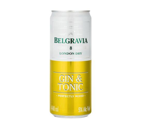 Belgravia Gin and Tonic (6 x 440ml)