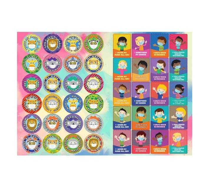 Redfern Self-Adhesive Covid Teacher Stickers (A5)