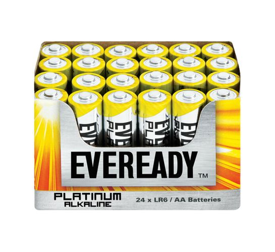 Eveready Platinum AA Batteries 24-Pack
