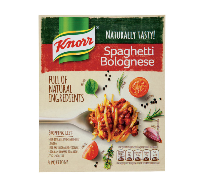 Knorr Dry Cook In Sauce Spaghetti Bolognese (1 x 43g)